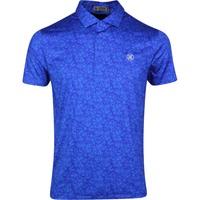G/FORE Golf Shirt - Vines Polo - Sapphire SS20