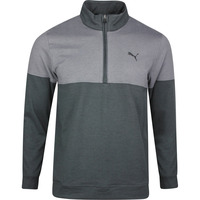 PUMA Golf Pullover - Warm Up QZ - Black SS20