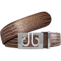 Druh Golf Belt - Lizard Tour Leather - Brown 2020