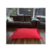 Large Outdoor, Waterproof Red Bean Bag Lounger