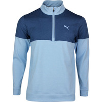 PUMA Golf Pullover - Warm Up QZ - Blue Bell SS20