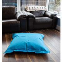 Blue Square, Large Outdoor Bean Bag Lounger
