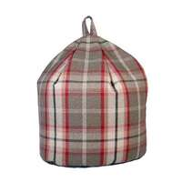 Gingham Large Bean Bag