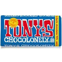 Tony's Chocolonely - 70% Fairtrade Dark Chocolate (180g)