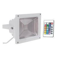 RGB LED Flood Light with Wireless Infrared Controller - 20 Watt
