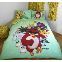 Angry Birds, King Size Bedding - Fierce