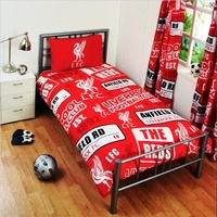 Liverpool FC Single Duvet Cover