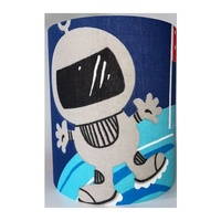 Spaceman Medium Fabric Light Shade