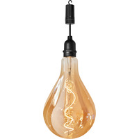 Battery Operated Glass Filament Bulb with On/Off Switch & Timer