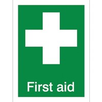 First Aid PVC Sign