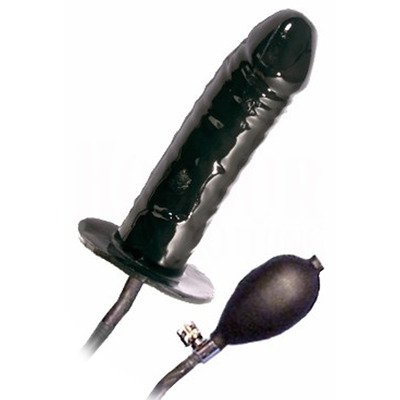 Moulded Rubber Large Pump-up Dildo