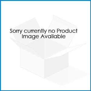 W.A.T Long Gold And Black Faux Suede Skull Necklace
