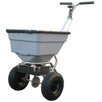 Handy 100lbs Push Salt Spreader