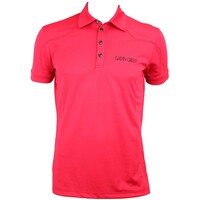 Galvin Green Mason Tour Ventil8 Golf Shirt Electric Red-Black