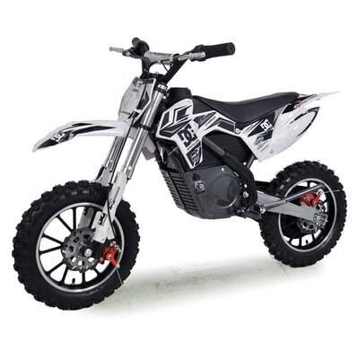 FunBikes MXR 61cm Black Electric Kids Mini Dirt Bike