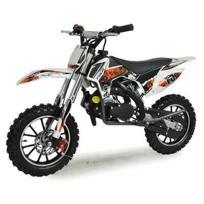 FunBikes MXR 50cc 61cm Orange Kids Mini Dirt Bike