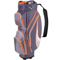 Puma Formstripe Golf Cart Bag Folkstone Grey-Vibrant Orange AW15