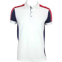 Galvin Green Manning Ventil8 Golf Shirt White-Midnight AW15