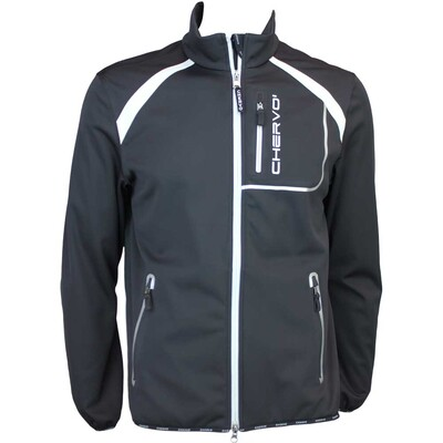 Cherv242 Mirandola Wind Lock Golf Jacket Black AW15