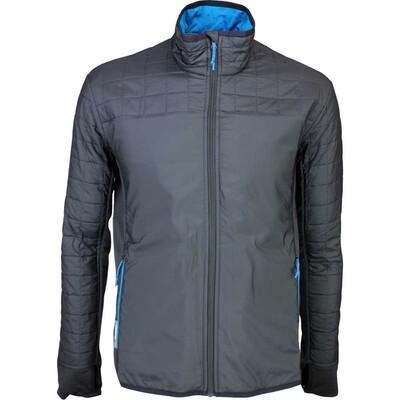 Icebreaker Helix Merino Golf Jacket Carbon AW15