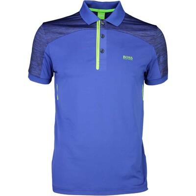 Hugo Boss Golf Shirt - Pavotech Blue Depths SP16