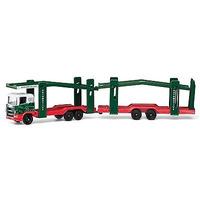 Corgi Toys Eddie Stobart Car Transporter Lorry 1.64 Scale Diecast Model