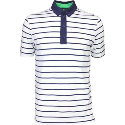 Cherv242 Golf Shirt ASANA White SS16