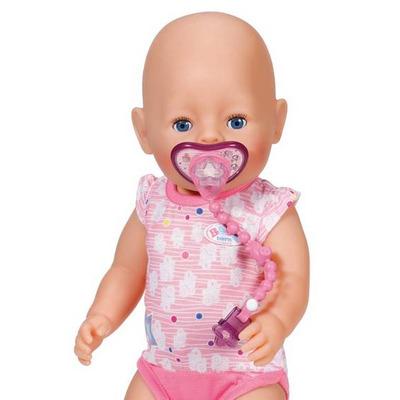 Baby born Dummy with Dummychain - Pink