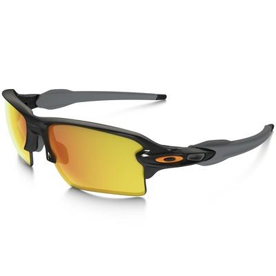 Oakley Golf Sunglasses Flak 20 XL Polished Black Fire