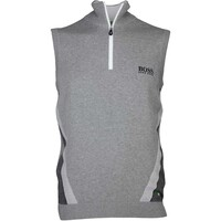 Hugo Boss Golf Jumper - Zagi Pro - Grey Melange FA16