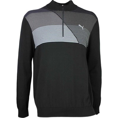 Puma Golf Jumper - Levels Quarter Zip - Black SS17