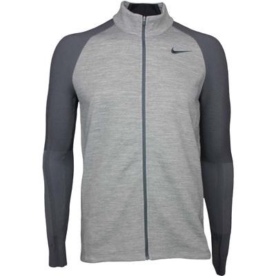 Nike Golf Jacket - Tech Sphere Sweater - Carbon Heather SS17