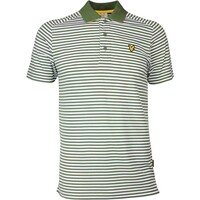 Lyle & Scott Golf Shirt - Craigielaw Tech Tour - Cedar Green SS17
