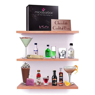 Chocoholic's Chocolate Cocktail box