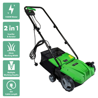 Charles Bentley 2 in 1 Electric 1500W Scarifier & Aerator