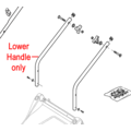 Click to view product details and reviews for Mountfield Lower Handle 381006769 0.