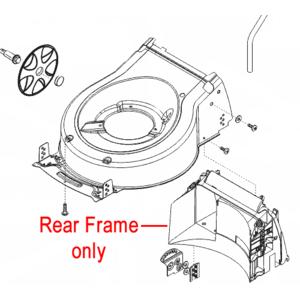 Al Ko Lawnmower Casing Rear Frame 46049101
