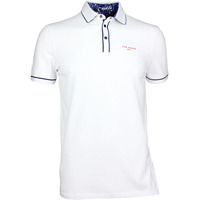Ted Baker Golf Shirt - Playgo Solid Polo - White SS17
