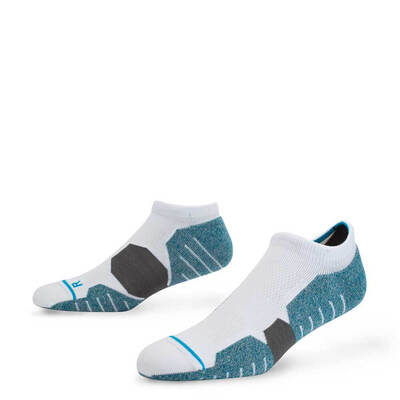 Stance Golf Socks Parsons Low White Teal 2017