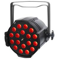 Zoom LED RGBW LED Parcan 18x 8 Watt 25-75 Degrees