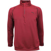 Puma Golf Pullover - PWRWARM QZ - Pomegranate AW18