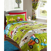 Farmyard Animal Toddler Bedding