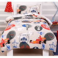 Motorsports Toddler Bedding