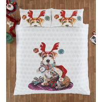 Ivy and Snowy King Size Bedding