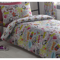 Dance Crew King Size Bedding