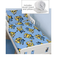Despicable Me, Minions 4 Piece Toddler Bedding Bundle - Bello