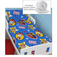 Paw Patrol 4 Piece Toddler Bedding Bundle - Pawsome