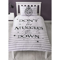 Harry Potter Bedding, Spell, Single Duvet Cover Set