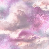 Diamond Galaxy Wallpaper - Purple/Blush