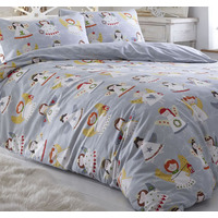 Choir of Angels, Christmas King Size Bedding